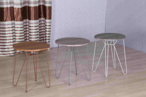 Round Reinforced Leg Coffee Table