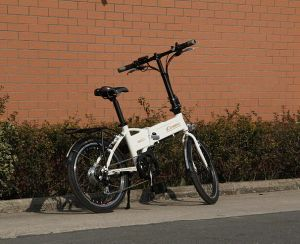En 15194 Aproved 20′ Lithium Battery Folding Electric Bike (20F04) pictures & photos