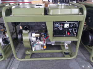 AC Single Phase 5kw Diesel Generator for Army Use pictures & photos