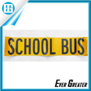 Yellow Reflective School Bus Sign Sticker and Decals pictures & photos