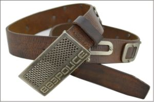 Casual Genuine Leather Belt with Letter&Star Metal pictures & photos