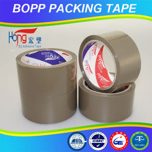Brown OPP Packaging Tape for Office Using/Carton Sealing