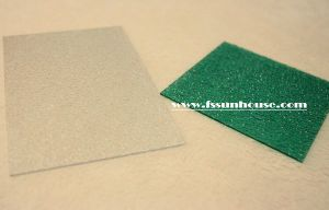 UV Transparent Plastic Sheet, Frosted Polycarbonate Sheet