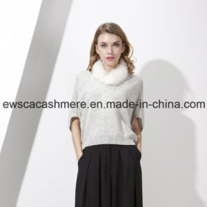 Women′s Pure Cashmere Knitwear with Snow Patterns