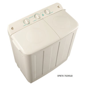 7.0kg Twin-Tub Top-Loading Washing Machine for Qishuai Model XPB70-7029SL pictures & photos