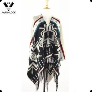 2016 Fashion Jacquard Shawl Knitting Patterns pictures & photos