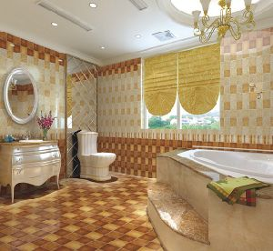 Beautiful Pattern Bathroom Ceramic Tiles for Decoration pictures & photos