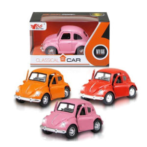 1: 38 Lovely Pull Back Die Cast Car with Light (10251035) pictures & photos