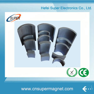 New High Quality Professional Ferrite Arc Magnet Manufacturer pictures & photos