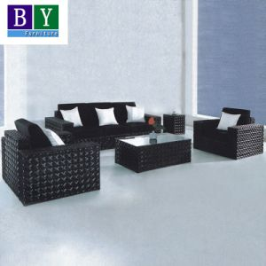 PE Rattan Sofa Set Outdoor Furniture Leisure Sofa pictures & photos