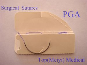 Polyglycolic Acid Surgical Suture pictures & photos