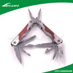 Mini Size Wood Handle Folding Pocket Multifunction Tool