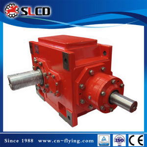 B3-8 Right Angle Shaft Heavy Duty Helical Bevel Reducer for Wood Pellet Machine pictures & photos