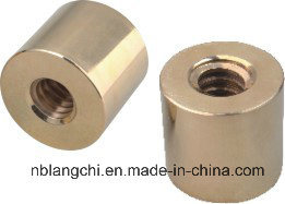 Trapezoidal Machining Parts Copper Bronze Round Nuts pictures & photos