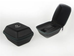 Portable Watch Case Display Box with Zipper Closure pictures & photos