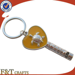 Cute Custom Souvenir Innovative Game Whistle Keychain (FTKC1880A) pictures & photos
