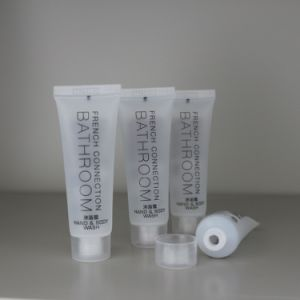 Plastic Transparent Tube for Conditioner Shampoo pictures & photos