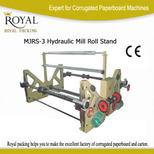 Shaft Electrical Roll Stand for Load The Paper Roll (MJRS-3) pictures & photos