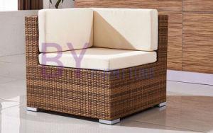 Poly Rattan Material Outdoor L-Shape UV Resistant Villa Garden Furniture pictures & photos