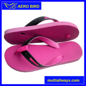 Fashion Summer Beach PE Slipper Sandal for Ladies pictures & photos