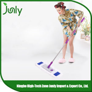 Portable Home Dust Flat Microfiber Floor Cleaning Mop pictures & photos