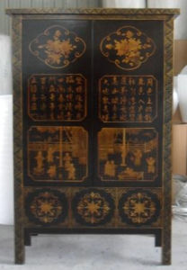 Chinese Antique Reproduction Painted Big Cabinet pictures & photos