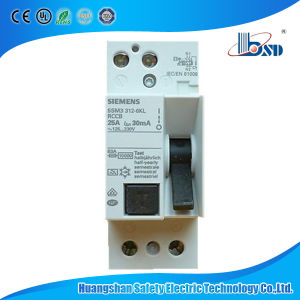 Siemens Type Earth Leakage Circuit Breaker RCCB 2p 4p pictures & photos