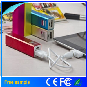 Single USB Mini Power Bank 2600mAh 18650 Powerbank pictures & photos