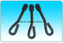 Galvanized Forged Steel Eye Anchor Bolts with Thread End pictures & photos