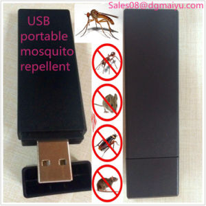 Outdoor Vehicle Portable USB Rechargeable Mosquito Repellent pictures & photos