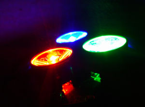 Indoor Use Mini RGB 3PCS 3W LED Bar Light pictures & photos
