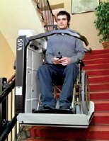 Platform Stair Lift, The Curved Inclined Platfrom Lift pictures & photos