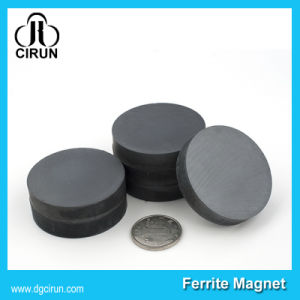 Custom Size Small Round Ceramic Ferrite Disc Magnets pictures & photos