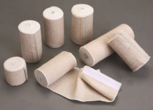 Surgical Purfled High Elastic Bandage ISO CE FDA Approved pictures & photos