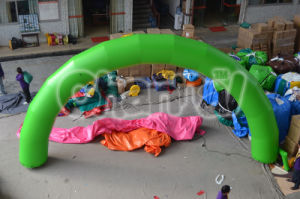Customizable Green Inflatable Arch for Promotion pictures & photos