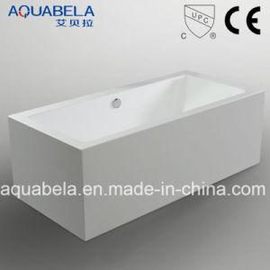 Luxury Bathroom Acrylic Rectangle Freestanding Bathtub (JL629) pictures & photos