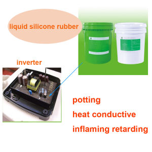 RTV Liquid Silikon Rubber Potting Silicon Adhesive for Power Mould, Lighting etc pictures & photos