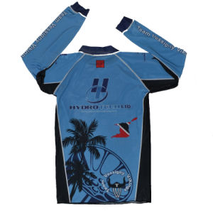 Sublimation Rash Guard/Custom Long Sleeve Compression Top/MMA Top pictures & photos