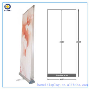 """Aluminum Roll up Stand with Double Sides, Luxury Wide and Broader Base Pull up Banner, 80*200cm, 33.5"""" * 79"""" Inch Roll up Banner"""