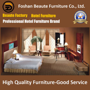 Hotel Furniture/Luxury Double Hotel Bedroom Furniture/Standard Hotel Double Bedroom Suite/Double Hospitality Guest Room Furniture (GLB-0109802) pictures & photos