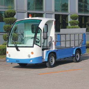 2 Seat Electric Garbage Transport Truck (DT-12) pictures & photos