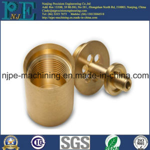 High Precision Custom Brass CNC Machining Pipe Fittings pictures & photos