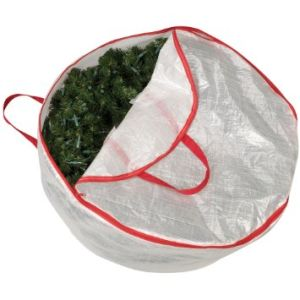 PE Materiallarge Christmas Wreath Bag pictures & photos