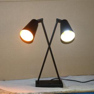 Decorative Matt Black Bedside Double LED Lighting pictures & photos