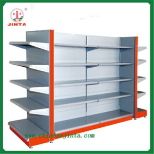 Double Sided Metal Supermarket Shelf (JT-A01) pictures & photos