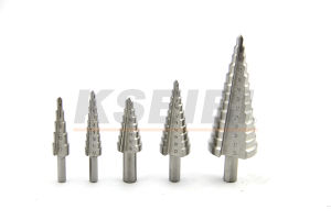 Top Quality 4-35mm HSS Metal Step Drill Bits pictures & photos