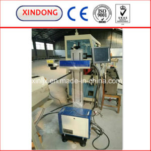 Laser Marking Machine on Plastic Pipe pictures & photos