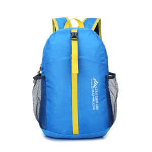Customized Nylon Youth Fashion Canvas Leather Laptop School Backpack pictures & photos