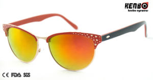 New Coming Fashion Metal Sunglasses for Accessory Km15188 pictures & photos