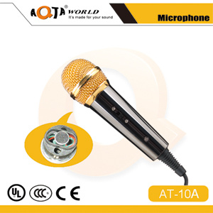 Mini Condenser Recording Microphone for Kid KTV with 3.5 Cable